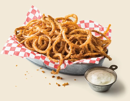 Hot and Crispy Onion Strings